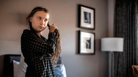 Greta Thunberg in London