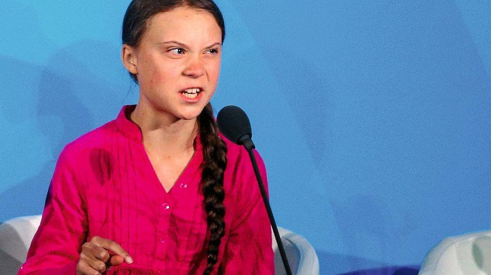 Gretas Rede vor den Vereinten Nationen