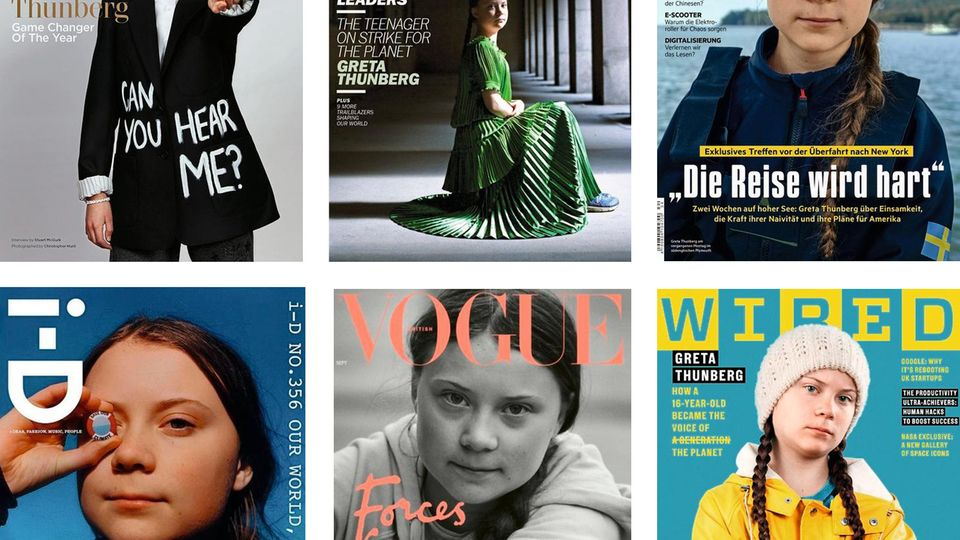Cover mit Greta Thunberg