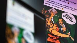 """Belgien: Empörung über """"schlag-kräftige"""" Burger-Werbung"""