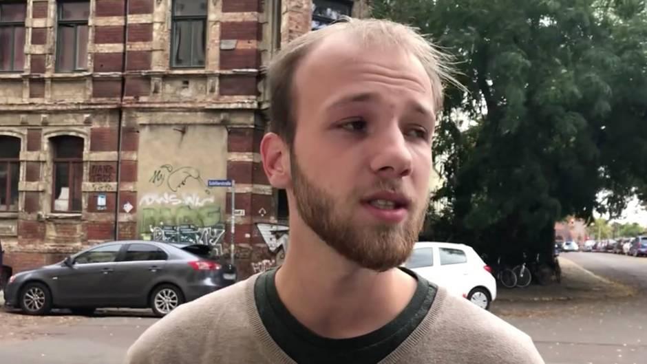 """Schüsse in Halle und Landsberg: Augenzeuge: """"Ich habe erst nicht gedacht, dass es Schüsse sind"""""""