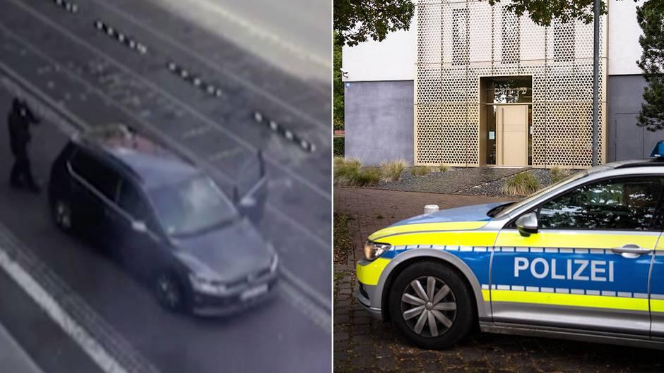Attacke: Attentäter erschießen zwei Menschen in Halle – Polizei fasst Täter