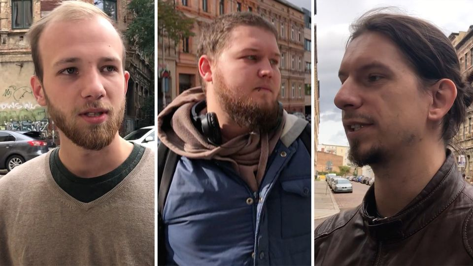 Tödlicher Angriff: Der Schock von Halle: Trauer und Entsetzen nach antisemitischer Attacke