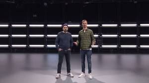 Joko & Klaas im Studio – hier sollte die Livesendung ausgestrahlt werden