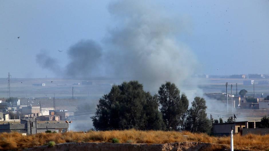 Luftangriffe Syrien Türkei