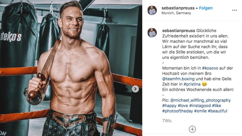 Sebastian Preuss ist der neue Bachelor 2020