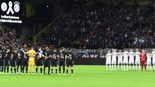 Die Nationalmannschaft gedenkt den Opfern von Halle