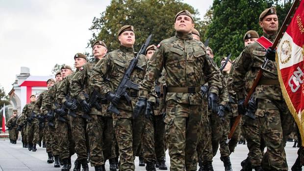 Freiwillige Paramilitärs