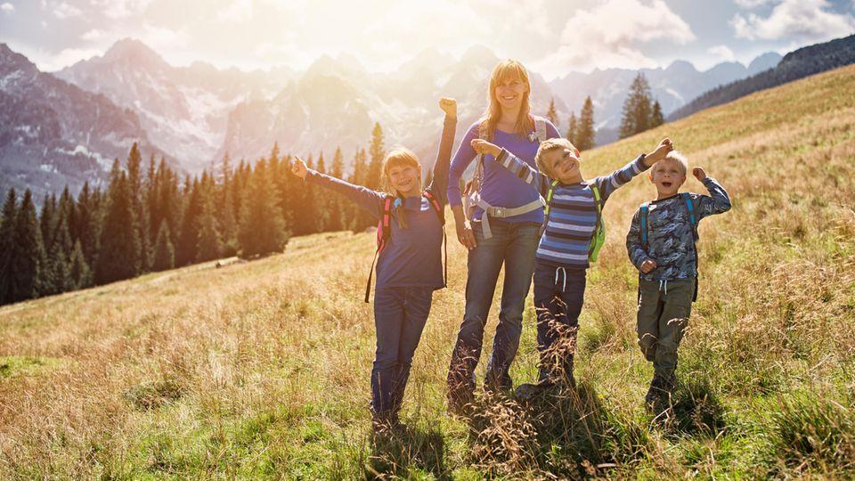 Die Sicherheit Ihrer Kinder beim Wandern hat oberste Priorität