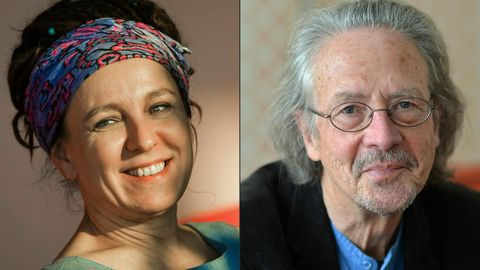 Olga Tokarczuk und Peter Handke