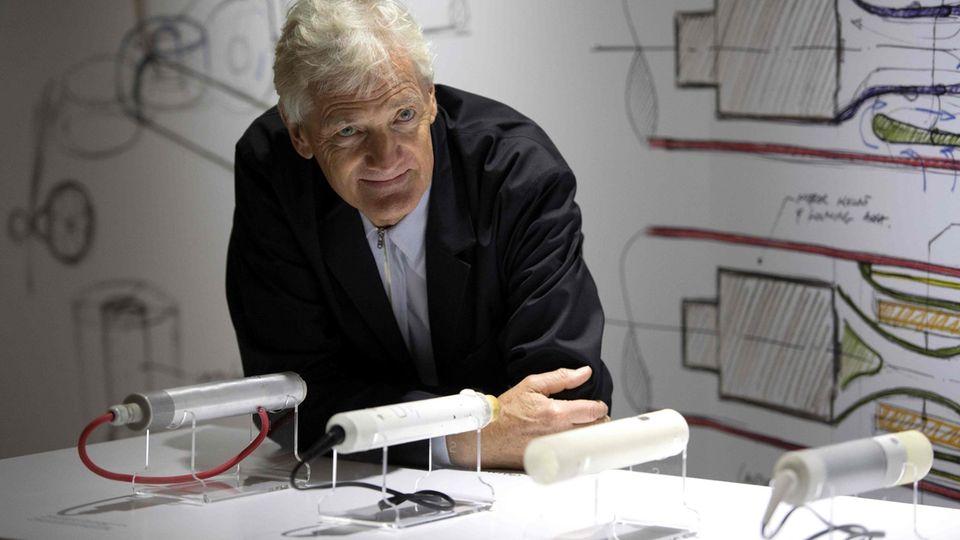 Unternehmensgründer James Dyson wird das geplante Elektroauto vorerst nicht auf den Markt bringen.