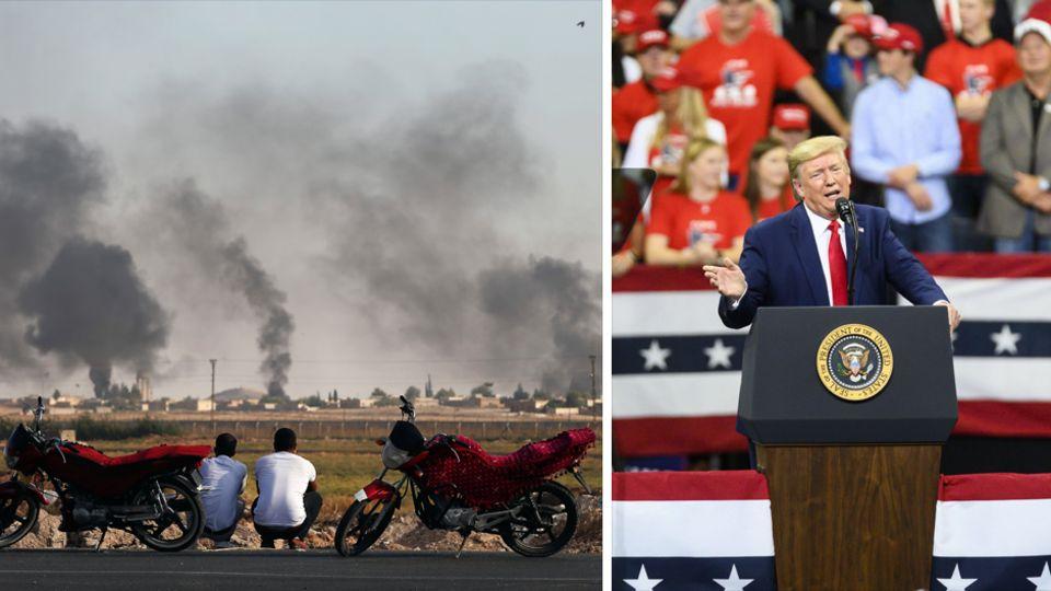 Donald Trump bringt die USA als Vermittler im Konflikt zwischen Türken und Kurden ins Spiel