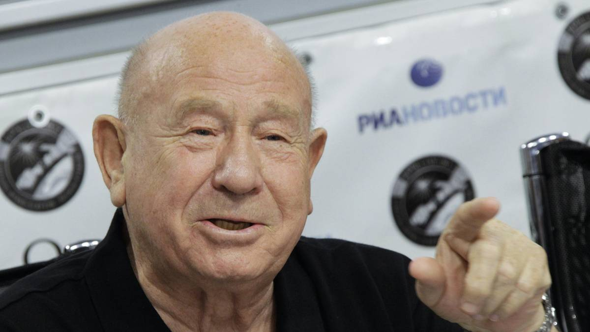 Verstorbene Stars: Raumfahrt-Pionier Alexej Leonow gestorben
