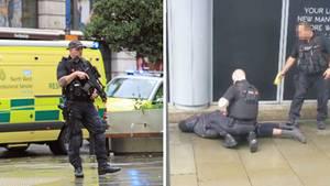 Fünf Menschen sind am Freitag bei einer Messerattacke niedergestochen und teilweise schwer verletzt worden.