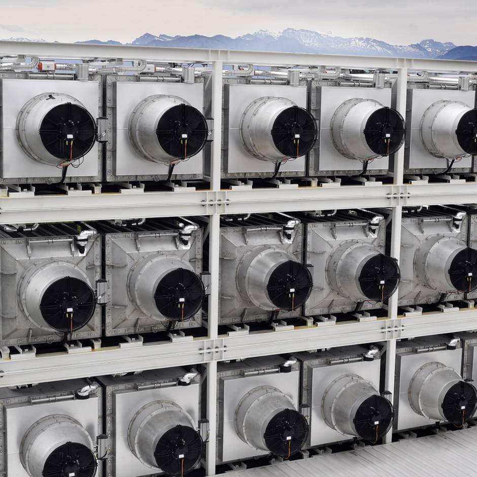 Deutsche Ingenieurskunst: Rettet diese CO2-Saugmaschine die Erde?