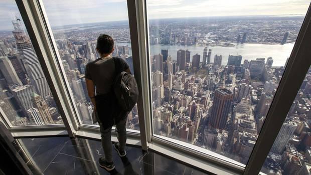 Atemraubend mitten im Himmel über Manhattan: Die renovierte Aussichtsplattform im 102. Stockwerk des Empire State Building