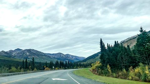 Der Seward Highway in Alaska