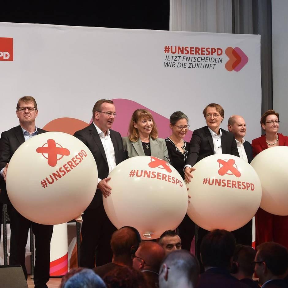 Neuwahl des Vorsitzes: Endspurt bei der SPD: Jetzt dürfen die Mitglieder entscheiden