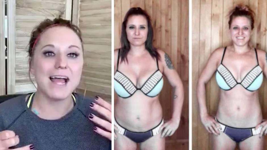 Ashley Beeman war lange Zeit abhängig von Diätpillen