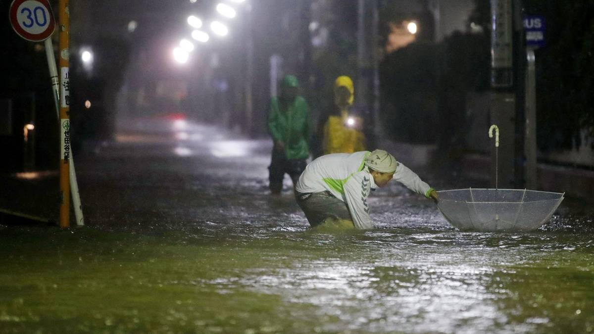 News von heute: Mindestens zwei Tote durch Taifun