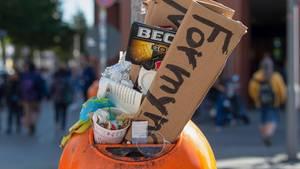 Klima: Ein übervoller Mülleimer