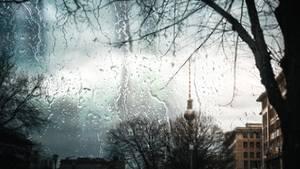 Regen in Berlin