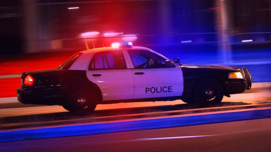 US-Polizei Auto