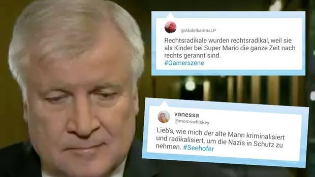 Horst Seehofer muss sich aktuell mit einem handfesten Shitstorm auseinandersetzen.