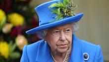 Queen Elisabeth wird die Regierungserklärung von Boris Johnson verlesen
