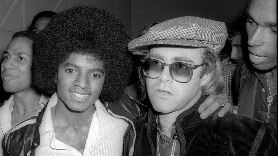 Michael Jackson und Elton John