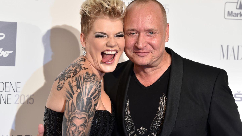 Melanie Müller und ihr Ehemann Mike Blümel