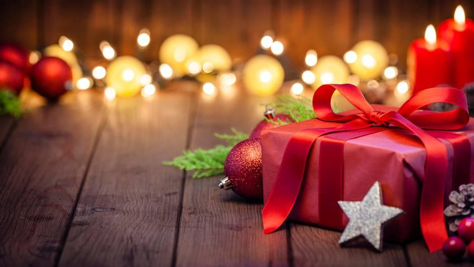 Schmuck an Weihnachten