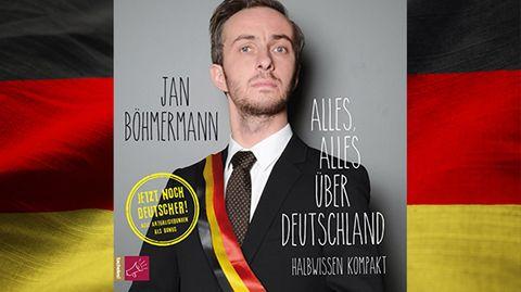 """Jan Böhmermann und Co.: """"Alles, alles über Deutschland"""": Mit diesen fünf Hörbüchern wirst du zum Ober-Alman"""