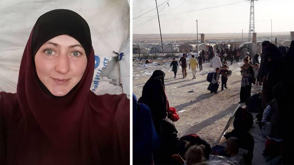 Die ehemalige IS-Anhängerin Elina Frizler