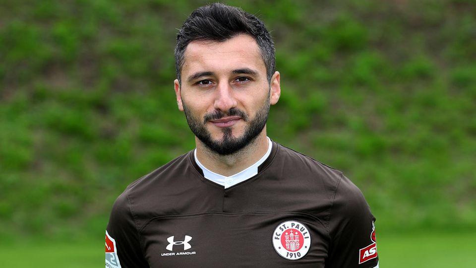 Cenk Şahin vom FC St. Pauli