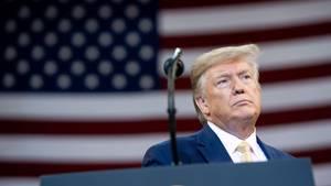 Donald Trump auf einer Wahlveranstaltung in Louisiana