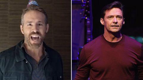 Die befreundeten Schauspieler Hugh Jackman und Ryan Reynolds necken sich seit Jahren in den sozialen Netzwerken.