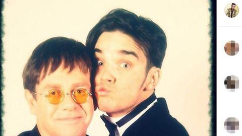 Elton John Robbie Williams