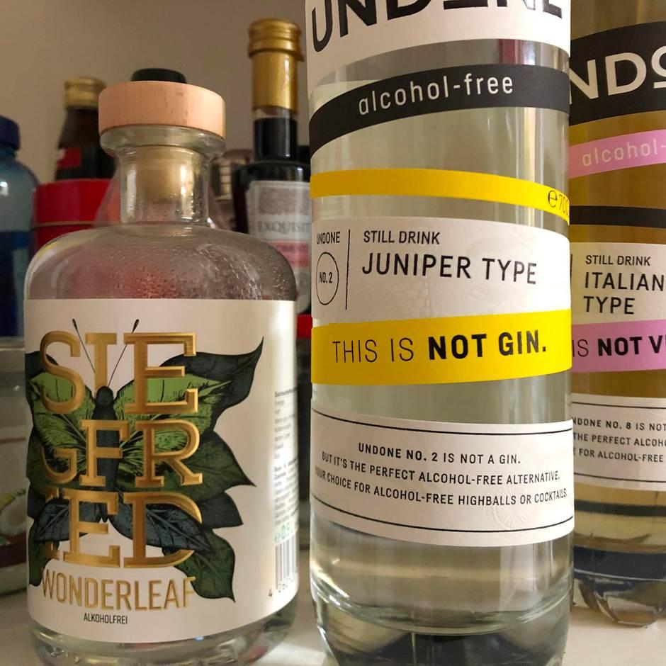 Spirituosen: Nüchtern und Spaß dabei: Alkoholfreier Gin ist der neue Trend
