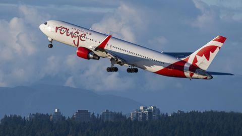 Flugzeug von Air Canada