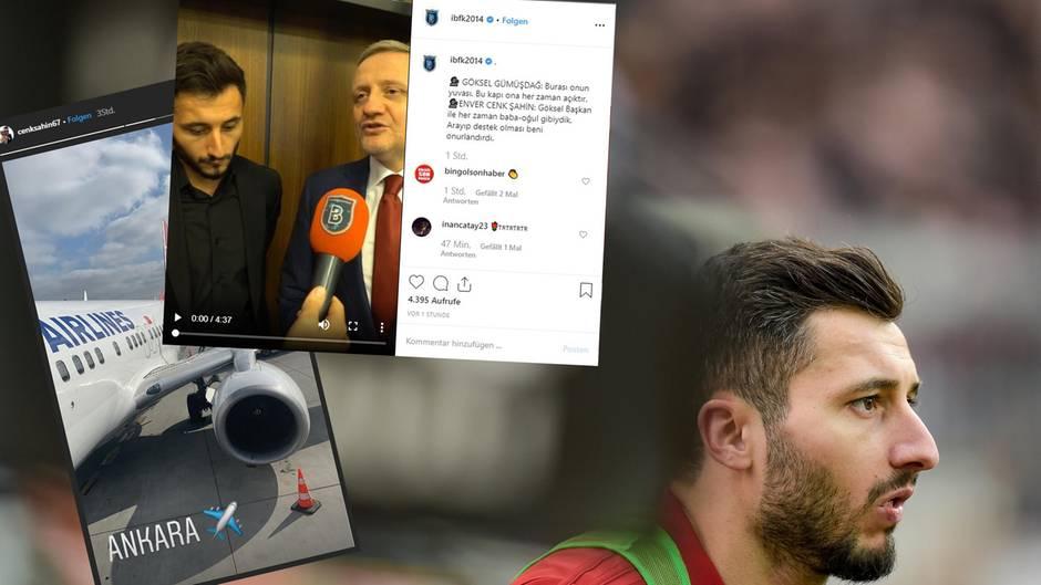 Der türkische Fußballprofi Cenk Şahin