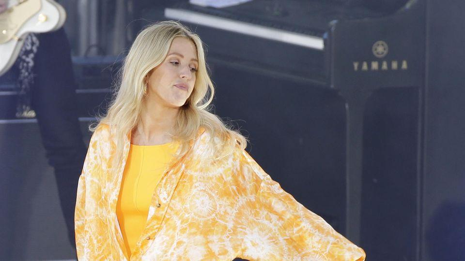 Die erfolgreiche Musikerin Ellie Goulding