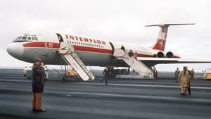 Iljuschin Il-62 der Interflug