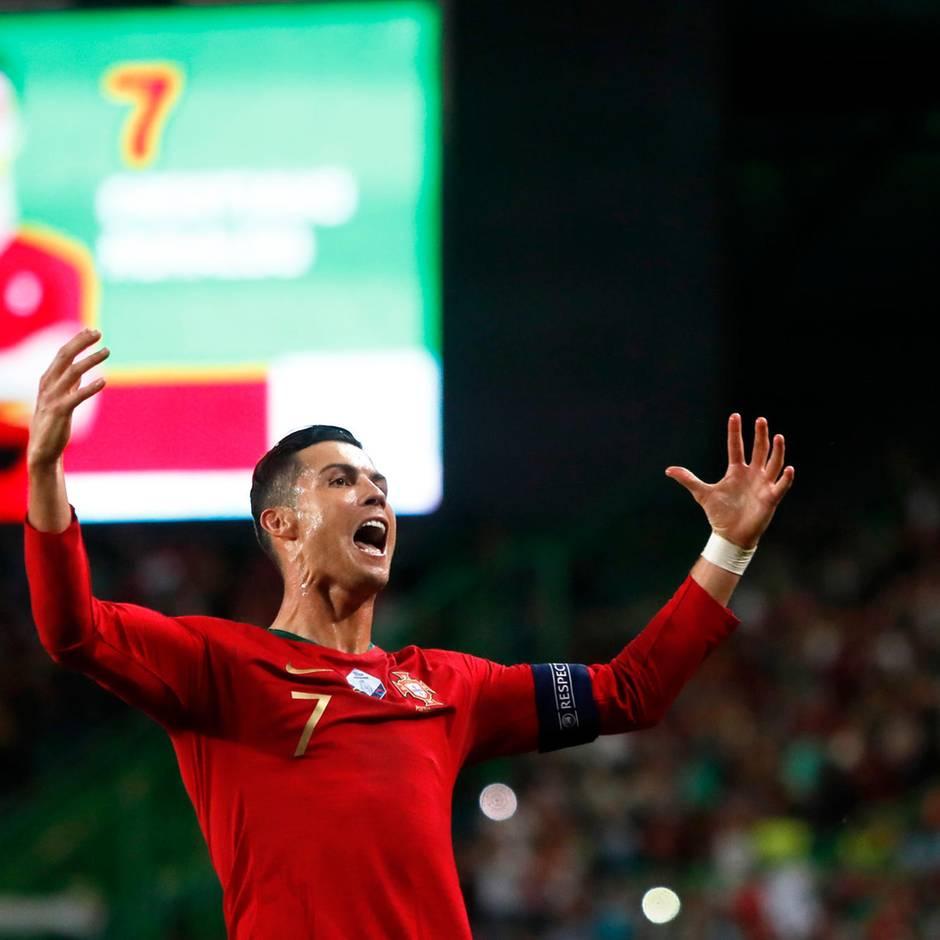 Fußball-Superstar: Ronaldo schießt 700. Karrieretor – und reagiert darauf, wie nur er es kann