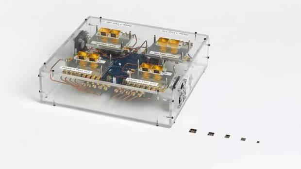 Die Chips des Project Soli wurden in den vergangenen Jahren stark miniaturisiert.
