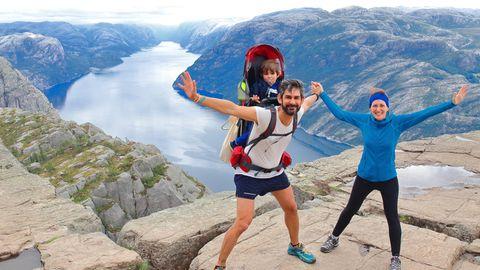 """Wandern durch Fjord-Norwegen: """"Es gibt kein schlechtes Wetter, nur schlechte Kleidung"""""""", sagen viele der Freunde zuAre Kalvø."""