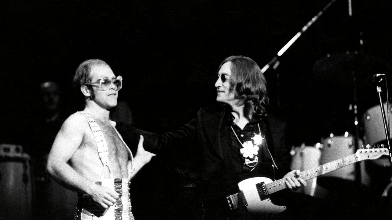 Elton John John Lennon