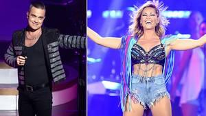 Robbie Williams hat mit Helene Fischer ein Duett aufgenommen