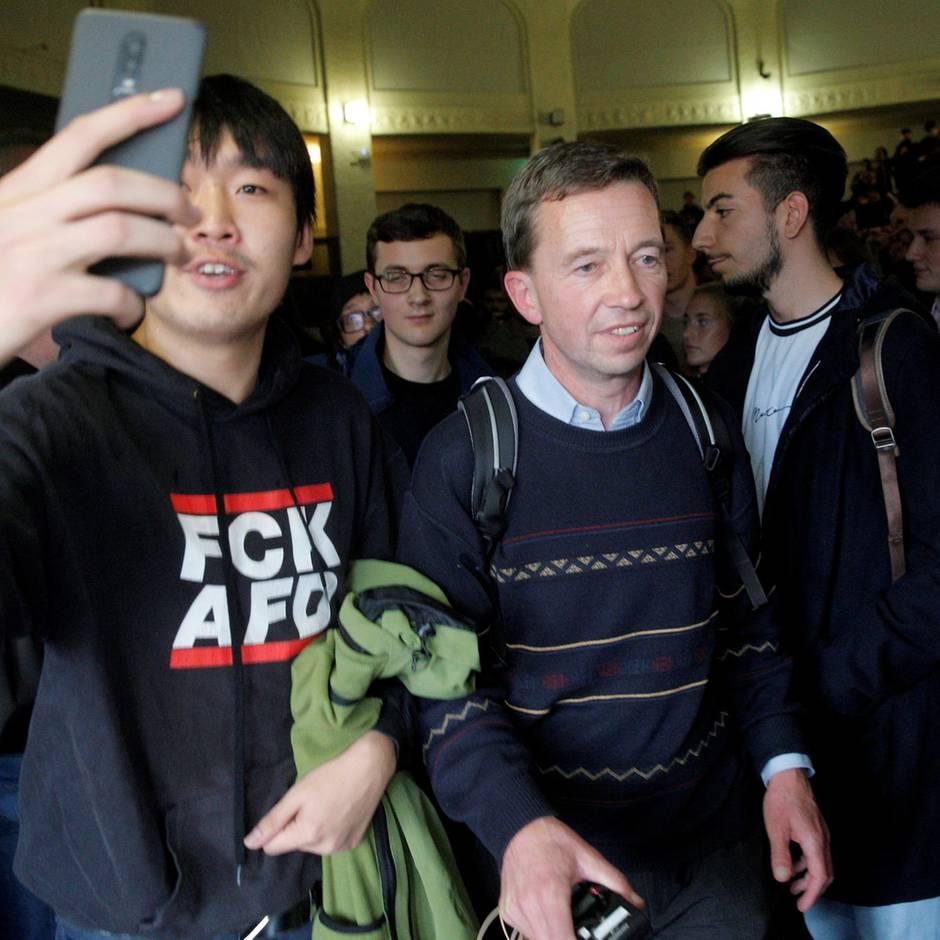 Tumulte bei Uni-Vorlesung: Bernd Lucke ist das falsche Hass-Objekt