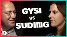DISKUTHEK: Gregor Gysi (DIE LINKE) trifft auf Katja Suding (FDP)